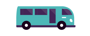 shuttle bus icon